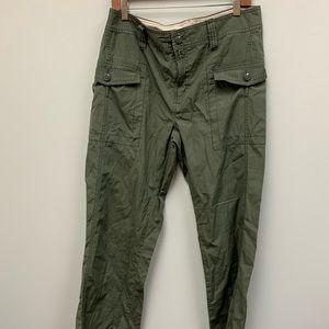 Tommy Hilfiger Green outdoor cotton pants size 12
